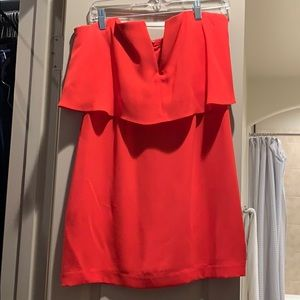 BCBG mini red dress!! Size 8!